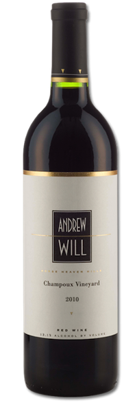 Andrew Will Winery is on Vashon Island in Washington state.