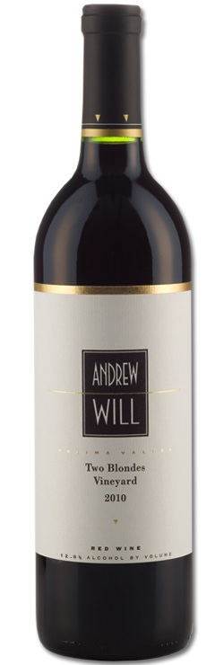 Andrew Will Winery is on Vashon Island, Washington. Two Blondes is an estate vineyard in the Yakima Valley near Zillah.