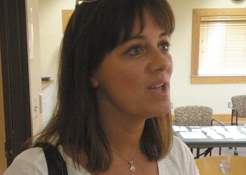 Annette Bergevin is owner of Bergevin Lane Vineyards in Walla Walla, Washington.