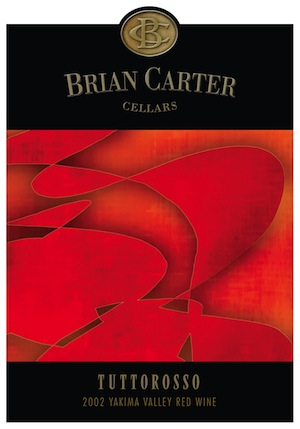 Brian Carter Cellars is in Woodinville, Washington. The Tuttorosso is Brian Carter's Super Tuscan style blend.