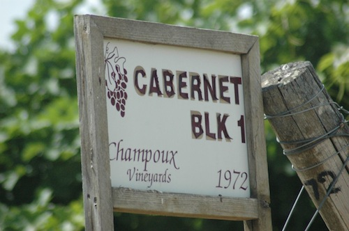 Champoux Vineyards is in Washington state's Horse Heaven Hills.