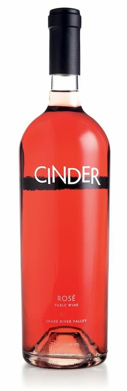 Cinder Wines is near Boise, Idaho, and uses grapes from the Snake River Valley.