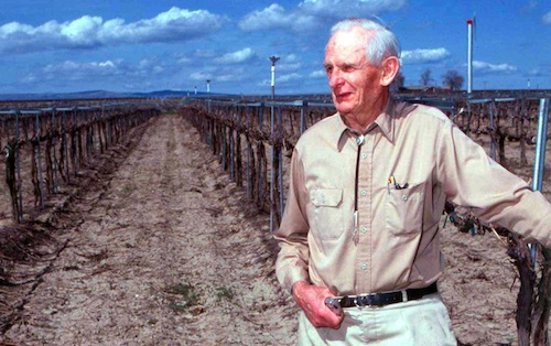 Walter Clore was the father of Washington wine.