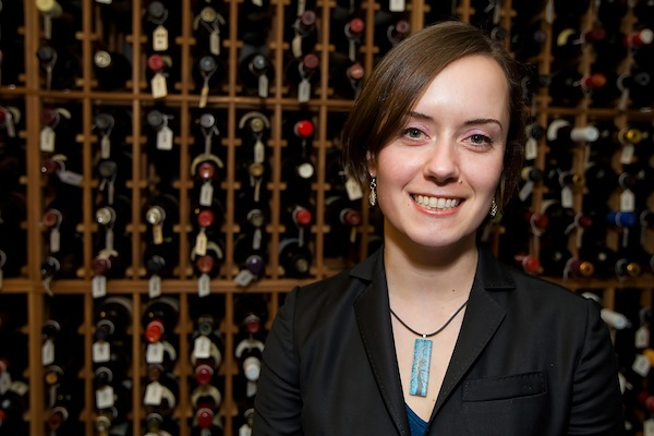 Cortney Lease, who graduated from the University of Washington with the chemistry degree, is company wine director for Wild Ginger Asian Restaurant and Satay Bar in Seattle.