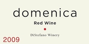 Domenica is a Merlot-based red blend from DiStefano Winery in Woodinville, Washington.