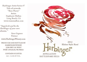 Harbinger Winery is near Port Angeles, Washington.