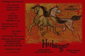 Harbinger Winery is near Port Angeles, Washington.
