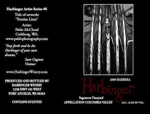 Harbinger Winery's Barbera comes from Sagemoor Vineyards in Washington state's Columbia Valley.