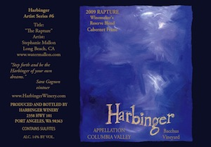 Harbinger Winery is in Port Angeles, Washington.
