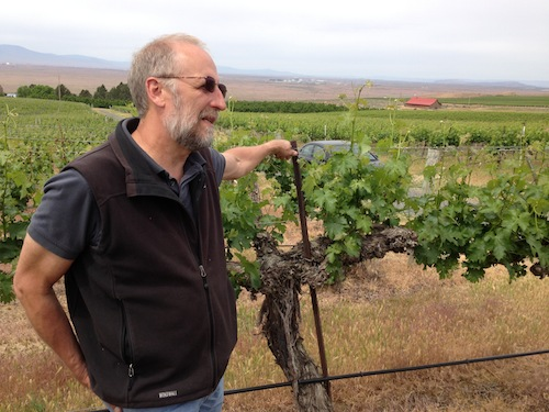 Kent Waliser is the general manager for Sagemoor Vineyards in Washington state.