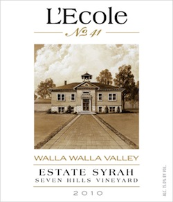 lecole-2010-seven-hills-estate-syrah-label
