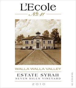 lecole-2010-seven-hills-estate-syrah-label