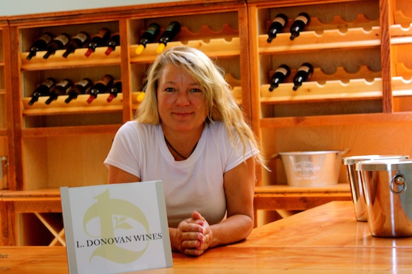 Linda Donovan Wines recently opened its new tasting room at Valley View Orchard in Ashland, Ore. She will sell not only her flagship L. Donovan brand, but also four other wines made under Donovan's license: Long Walk, Le Jeune Chien, Pick Me and Late Bloomer.