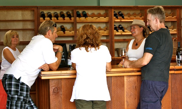 Linda Donovan Wines recently opened its new tasting room at Valley View Orchard in Ashland, Ore. (Photo courtesy of Hawkins & Co. PR)