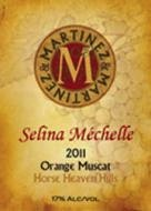martinez-and-martinez-2011_selina-mechelle-orange-muscat-label
