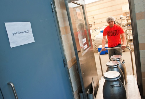 OSU fermentation science includes cheese production.