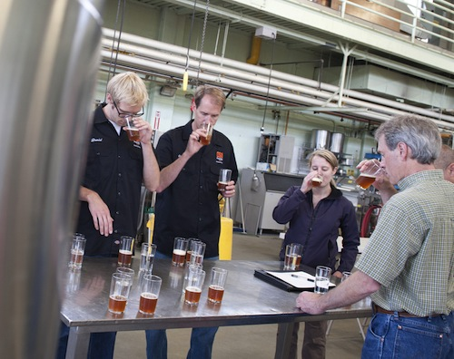 Oregon State University fermentation sciences include brewing beer.