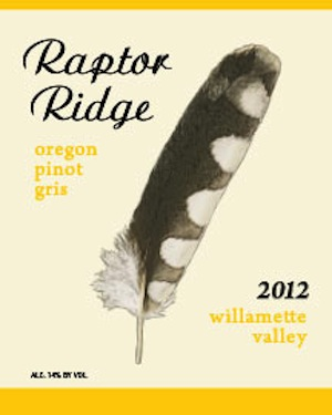 Raptor Ridge is a winery in Oregon's Willamette Valley.
