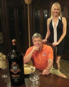 Mary Brown-Hurja continues to introduce Idaho wine producers such as Ron Bitner of Bitner Vineyards, seated, to high-end markets in Southern California.