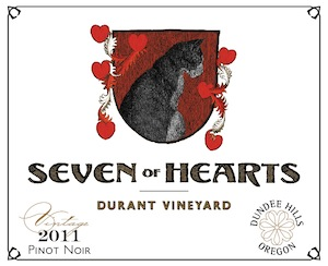 Seven of Hearts is a winery in Carlton, Oregon.