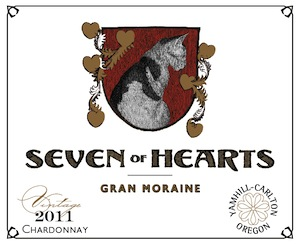 Seven of Hearts Winery is in Carlton, Oregon.
