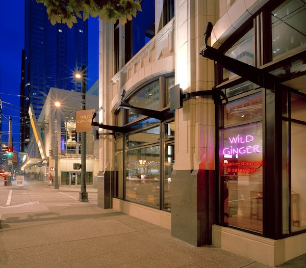 Wild Ginger Asian Restaurant and Satay Bar in Seattle will celebrate its 25th anniversary in 2014.