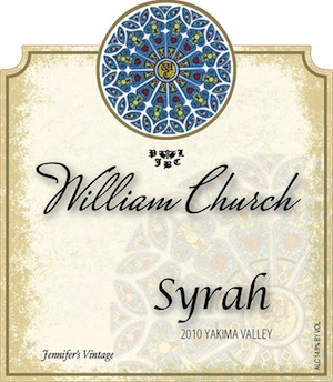 William Church Winery is in Woodinville, Washington