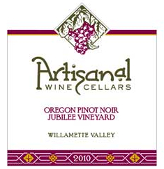 artisanal-wine-cellars-jubilee-vineyard-pinot-noir-lable