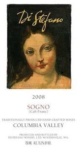 distefano-winery-sogno-2008-label