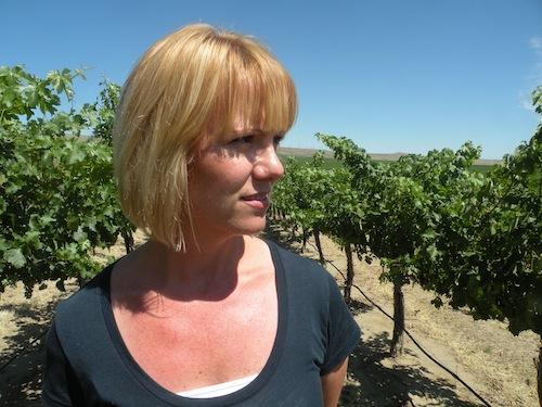 Jessica Munnell is head winemaker at Mercer Estates in Washington State.