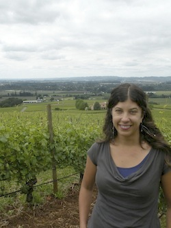 Melissa Burr is head winemaker at Stoller in the Dundee Hills of Oregon.