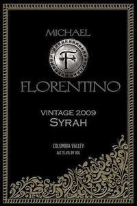 Michael Florentino Cellars 2009 Syrah