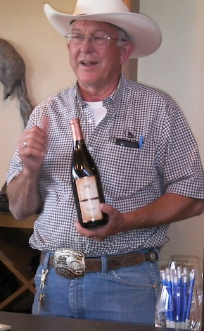 Mike Andrews owns Canyon Canyon Winery in Prosser, Wash., and Canyon Canyon Vineyard in the Horse Heaven Hills.