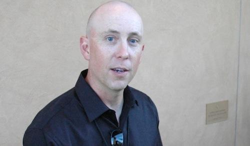 Ryan Johnson is vineyard manager for Ciel du Cheval Vineyard on Red Mountain in Washington state.