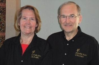 Hamilton Cellars is owned by Stacie and Russ Hamilton.