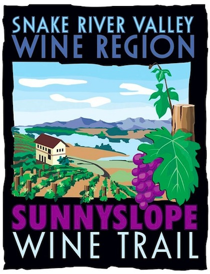 The Sunnyslope Wine Trail is a partnership of 10 wineries in the area west of Caldwell, Idaho, in the Snake River Valley.