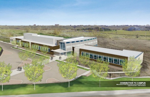 The Wine Science Center will be built at Washington State University Tri-Cities in Richland, Wash.