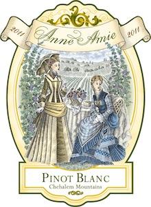Anne Amie 2011 Pinot Blanc