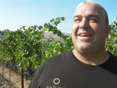 Charlie Hoppes owns Fidelitas Wines on Red Mountain in Washington state.