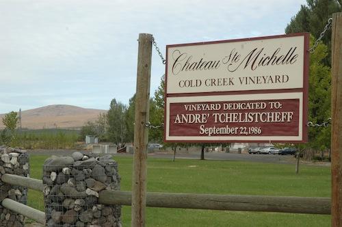Cold Creek Vineyard is one of Washington wine country's top vineyards.