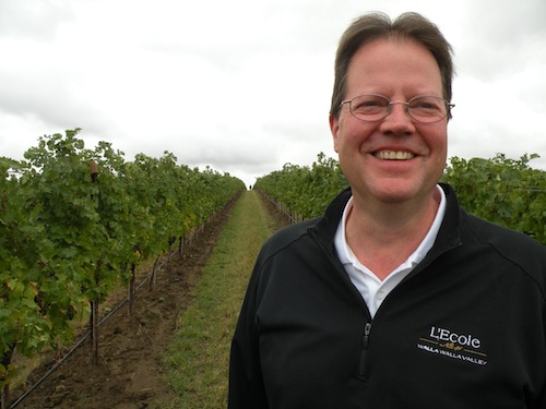 Marty Clubb is the owner and winemaker for L'Ecole No. 41 in the Walla Walla Valley of Washington state.