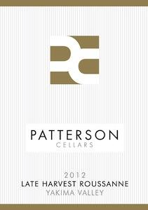 Patterson Cellars 2012 Late Harvest Roussanne