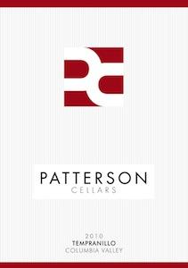 Patterson Cellars 2010 Tempranillo label