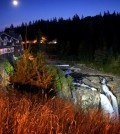 snoqualme falls night 120x134 - Salish Lodge celebrates with new Washington wine partners