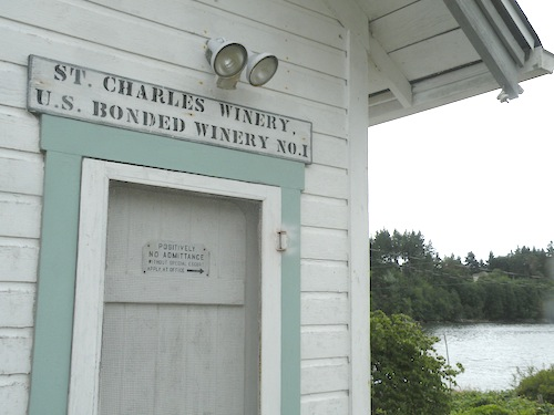 St. Charles Winery was Washington state's first bonded winery after Prohibition was repealed.