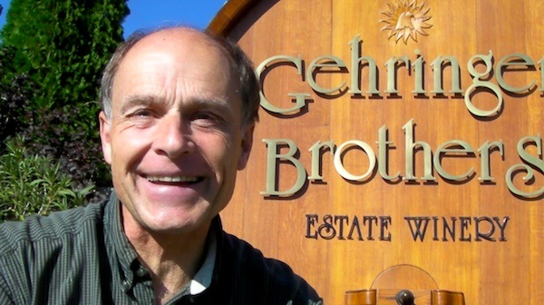 Walter Gehringer and his brother, Gordon, make wine for Gehringer Brother Estate Winery from estate vineyards on the Golden Mile Bench in Oliver, British Columbia, which is just north of Oroville, Wash.