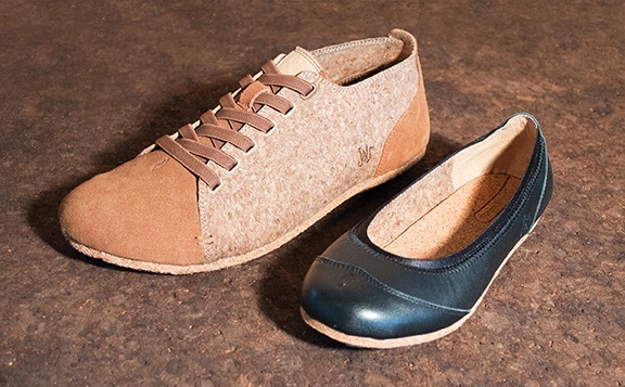 SOLE footwear in Vancouver, British Columbia has launched a Kickstarter campaign to produce two shoes using recycled wine corks.