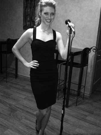Adrienne Bousquet, who won the title of Miss Tri-Cities in 2010, sings at wineries throughout the Columbia Valley.