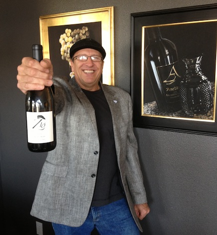 Earl Smart, longtime Tri-City wine professional, helped inspire Anelare's new brand called Zio. Smart also is an uncle to Anelare owners Forrest and Kahryn Alexander.