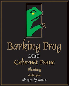 Barking Frog Winery 2010 Elerding Cabernet Franc